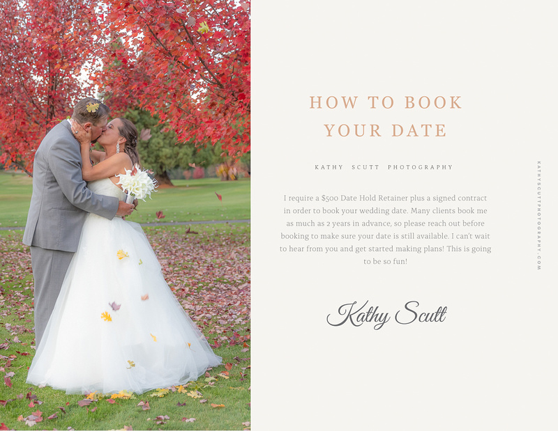 Wedding Pricing How to Book_
