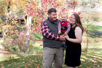 Fall Family Portraits at Indigeny Apple Reserve, 2022