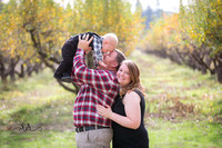 Fall Family Portraits at Indigeny Apple Reserve, 2023