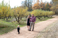 Fall Family Portraits at Indigeny Apple Reserve, 2024