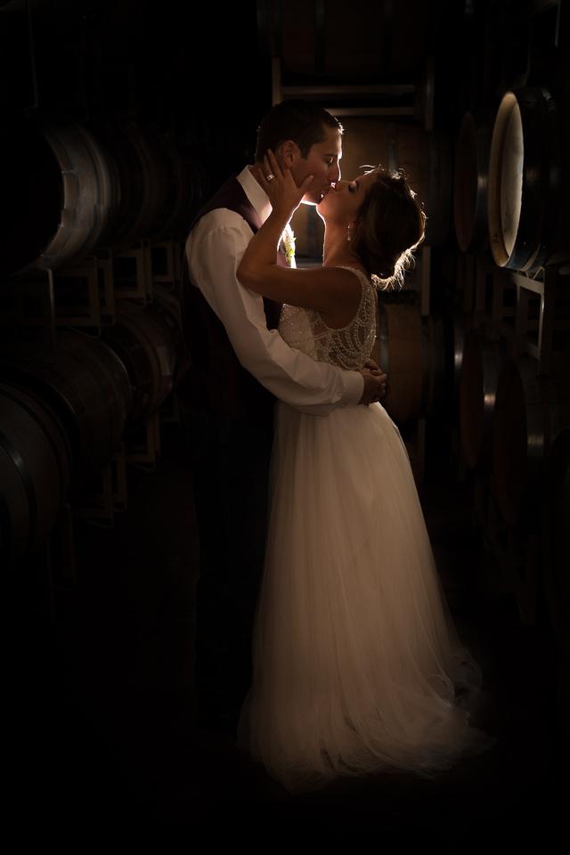 Barrel Room Kiss, Chatom Winery, Calaveras County, CA