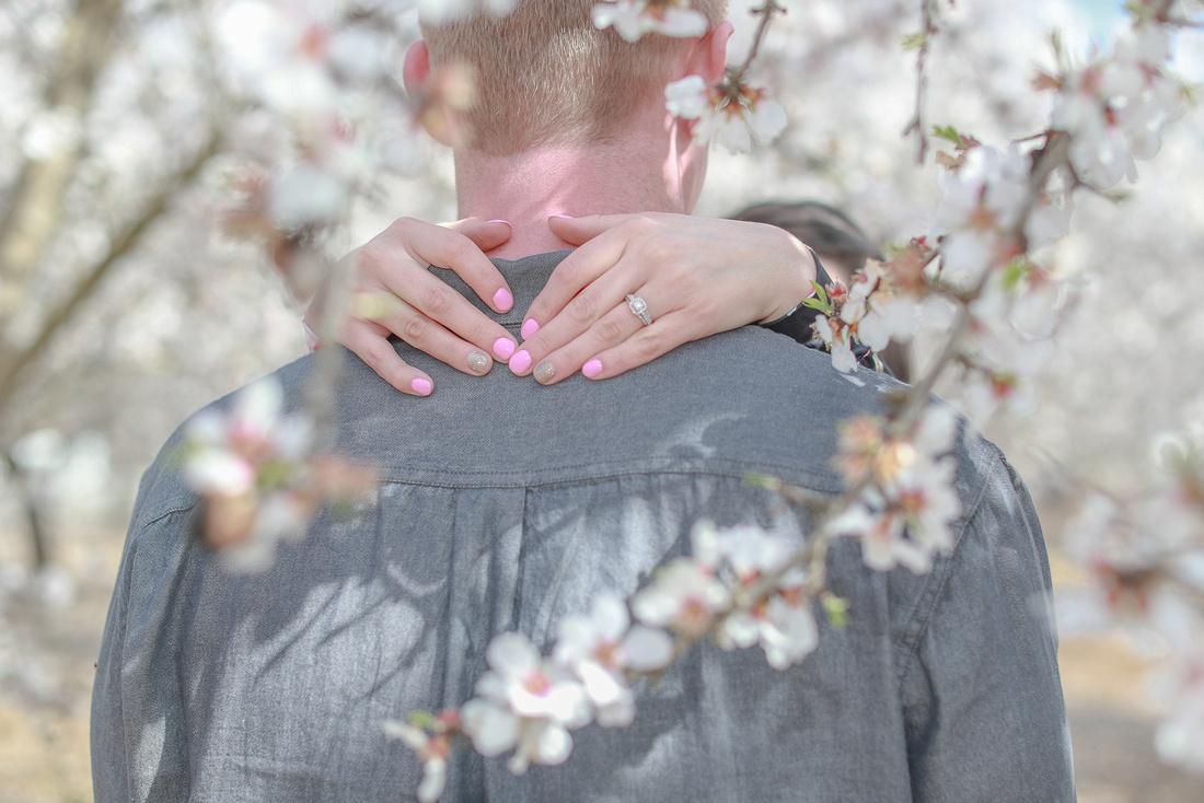 Almond Blossom Engagement